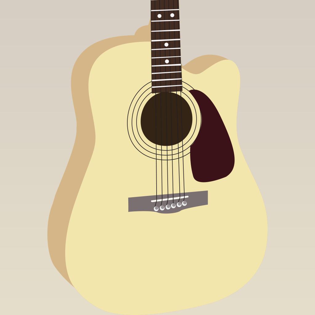Learn & Practice guitar scales rhythm arpeggio beginner ...